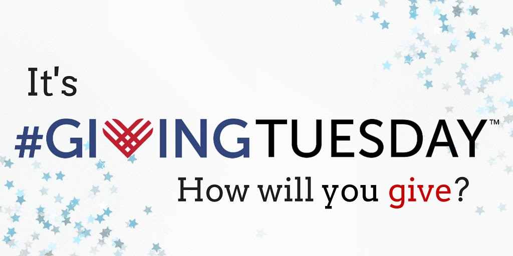 It's #Giving Tuesday. How will you give?