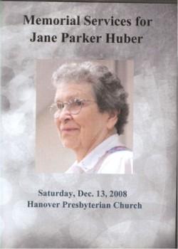 Jane Parker Huber
